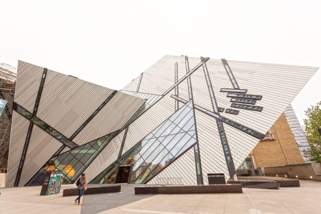 Royal Ontario Museum er Canadas største museum for naturhistorie og verdenskultur