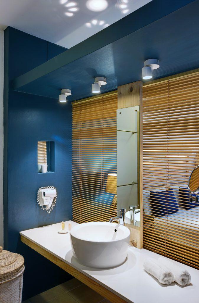 Svane Rejser's hoteller i Mauritius - Badeværelse på Pointes aux Biches