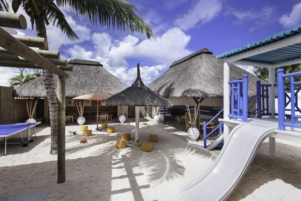 Svane Rejser's hoteller i Mauritius - Børneområde på Pointes aux Biches